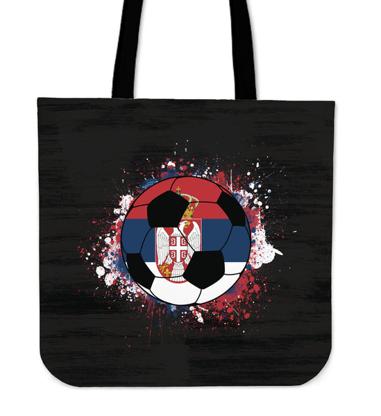Serbia Soccer Tote Bag Collection