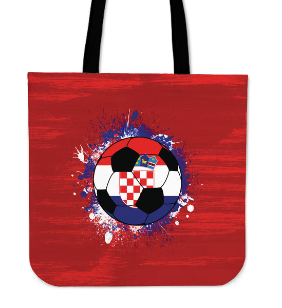 Croatia Soccer Tote Bag Collection