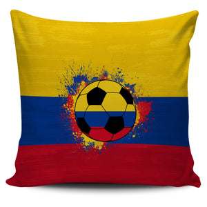 Colombia Soccer Pillow Cover Collection