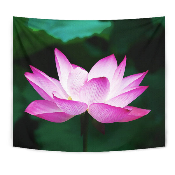 Wall Tapestry - Watercolor Lotus