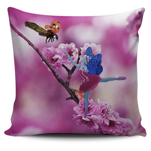 Pillow Cover Fairy Bluebell Color