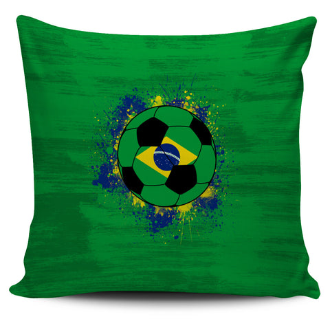Brazil Soccer Pillow Cover Collection