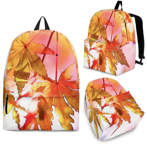 Autumn Print Backpack Kids