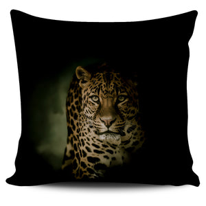 Pillow Cover Leopard Stalking