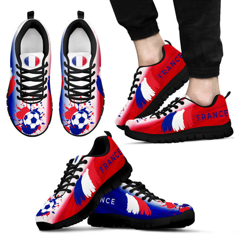 France Soccer World Cup Men's Sneakers