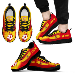 Spain Soccer World Cup Men's Sneakers