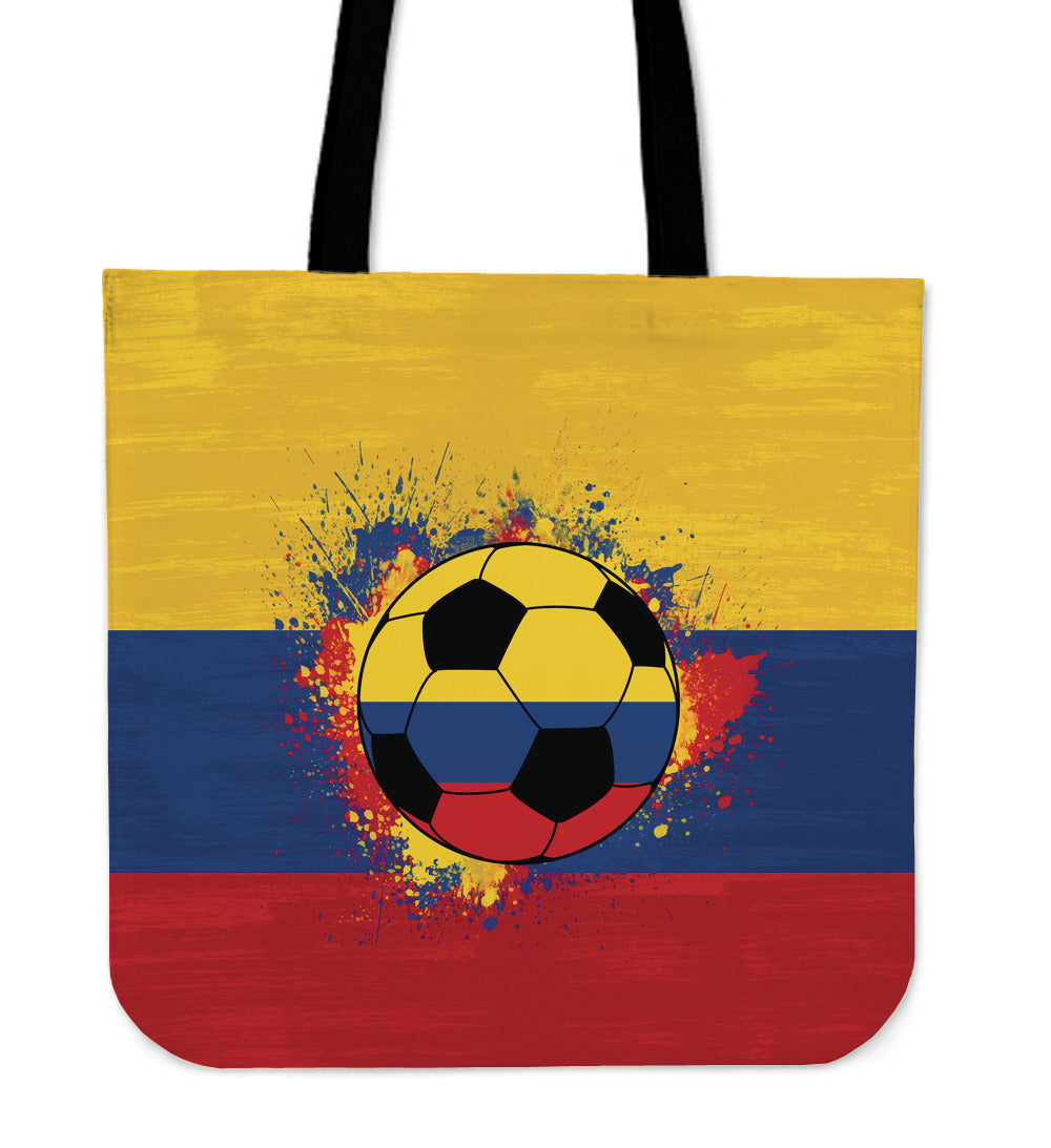 Colombia Soccer Tote Bag Collection