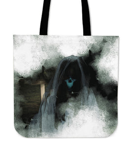 Cloth Tote Bag Macabre Mythology Cyhyraeth