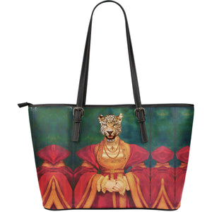 Large Leather Tote - Renaissance Remorphed (Anne of Cleves)