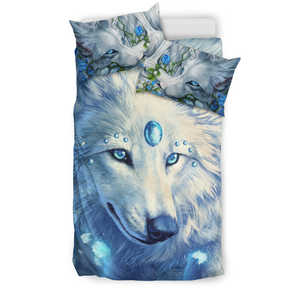 Bedding Set - Wolf Blue