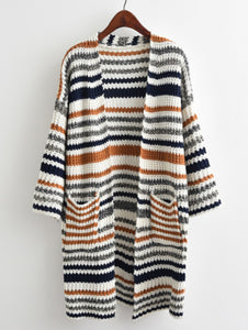 Women's Cardigan - Knit Longline