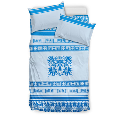 Bedding Set - Blue Ornamental