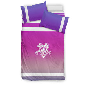 Bedding Set - Pink and Purple