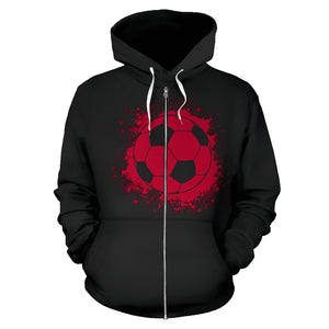 Japan Soccer Zip-Up Hoodie Kids
