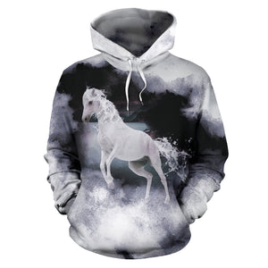 Women's Full Hoodie Macabre Mythology (Kelpie)