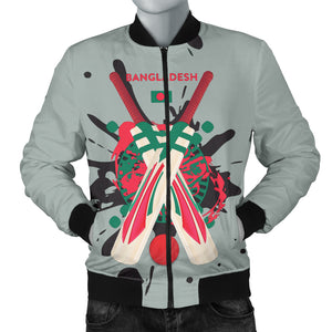 Men's Bomber Jacket - Cricket Collection (Bangladesh)