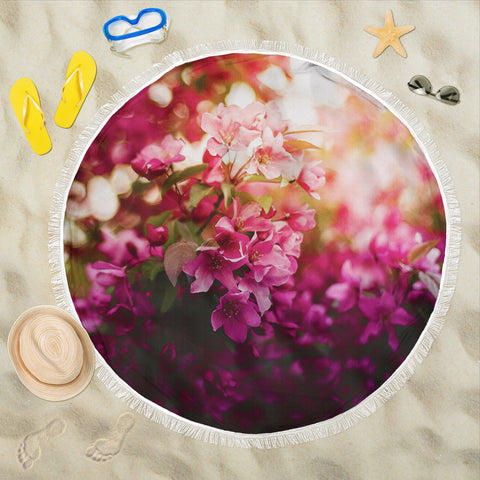 Beach Blanket Forest Flower Print