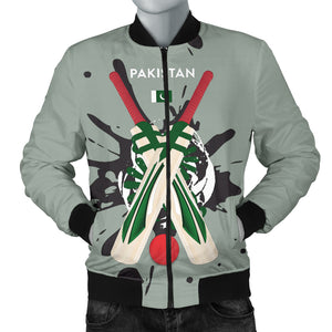 Men's Bomber Jacket - Cricket Collection (Pakistan)