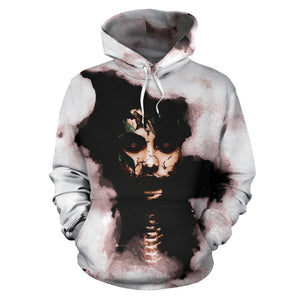 Women's Full Hoodie Macabre Mythology (Penanggalan)