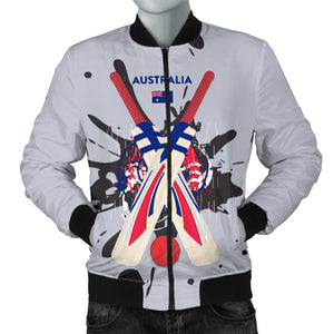 Men's Bomber Jacket - Cricket World Cup (Australia)