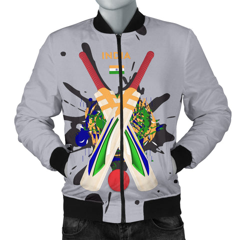 Men's Bomber Jacket - Cricket Collection (India)