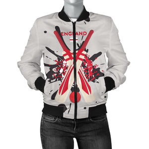 Women's Bomber Jacket - Cricket Collection (England)