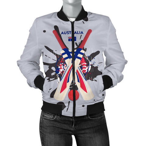 Women's Bomber Jacket - Cricket Collection (Australia)
