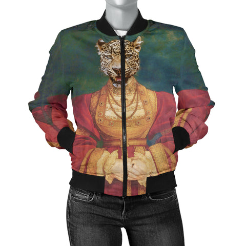 Women's Bomber Jacket - Renaissance Remorphed (Anne of Cleves)