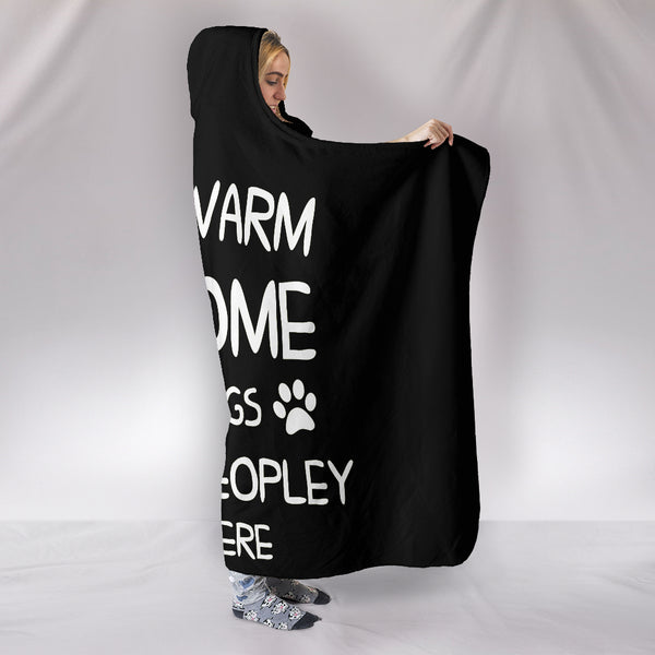 Hooded Blanket - Stay Warm At Home With Dogs