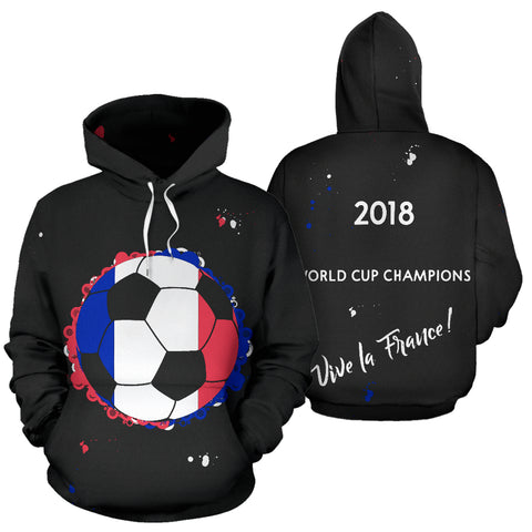 France 2018 World Cup Champions Hoodie Kids