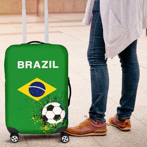Luggage Cover Brazil Soccer
