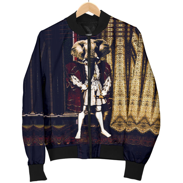 Women's Bomber Jacket - Renaissance Remorphed (Henry VIII)