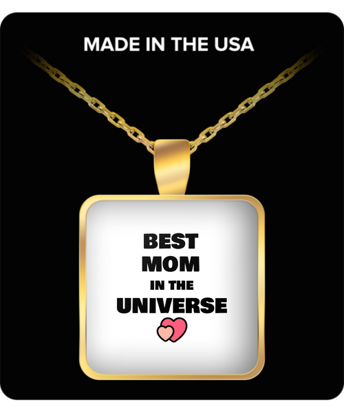 Necklace - Best Mom In The Universe