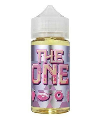 Beard The One 100 ml. The One is a mashup between a delicious strawberry donut and a bowl of delicious fruity cereal…with the milk of course! This blend will become your ONE and only all day vape.  70/30 VG/PG 100 mL bottles