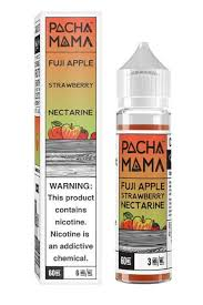 Best Seller! Restock 11/1! PACHAMAMA FUJI APPLE STRAWBERRY NECTARINE 60 ml