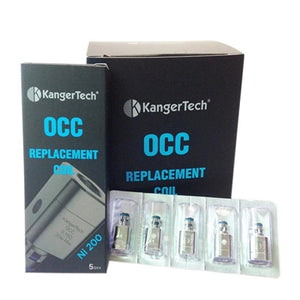 Kanger Nickel OCC .12 Ohm Replacement Coil - Vape Delivery Orlando