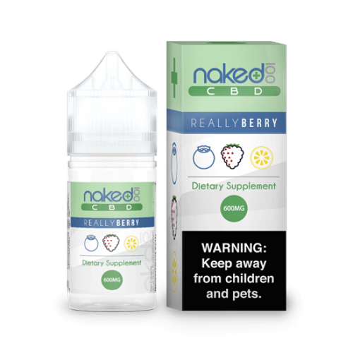 Naked 100 CBD Vape Oil Really Berry 1200 mg/ 30 ml