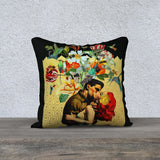 'Birds and the Bees 3' - 18x18 Pillow Cover