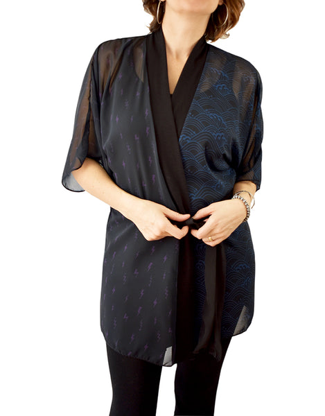 'Force of Nature' Kimono Robe