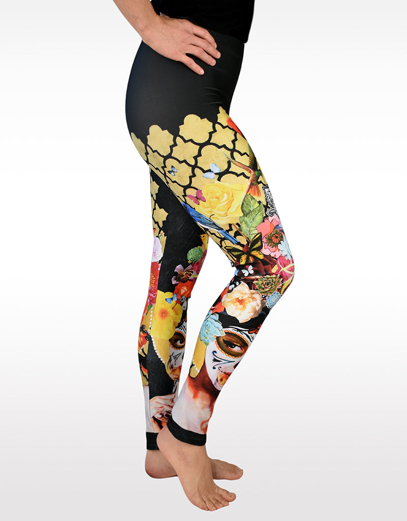 """A Little Bird Told Me 4"" Leggings"