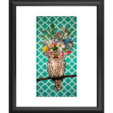 'Laughing Owl' Fine Art Print