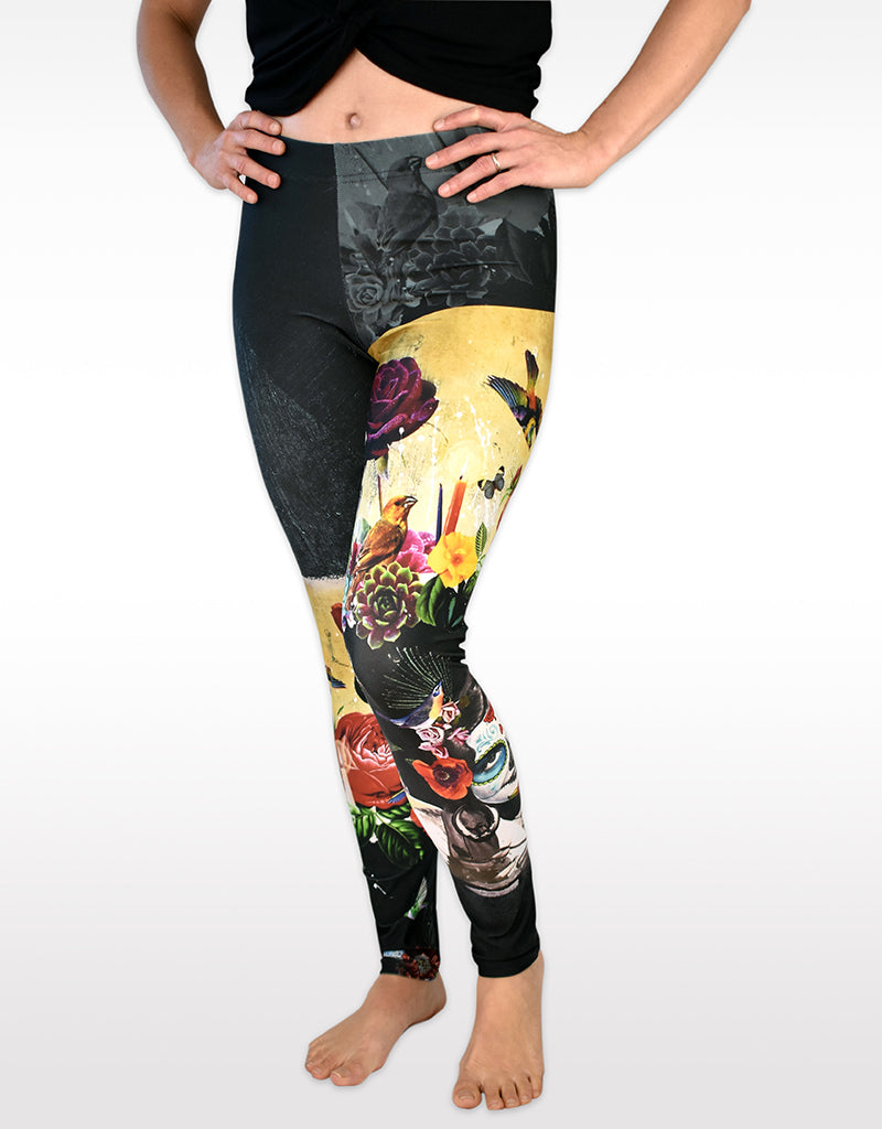 'Señorita Blanca' Leggings