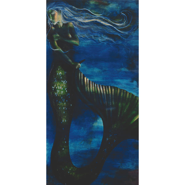 """Sleeping Mermaid"" Capris"