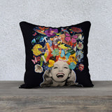 'Lottie's Laugh' - 18x18 Pillow Cover