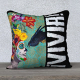 'VIVIR!' - 18x18 Pillow Cover