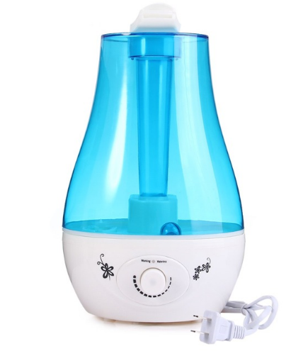 Ultrasonic Humidifier Mini Aroma Humidifier Air Purifier with LED Lamp Humidifier for Portable Diffuser