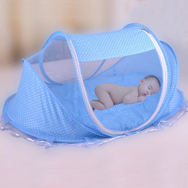 Foldable  Baby Bed Net With Pillow+Net 2pieces Set