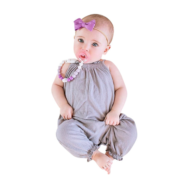 Summer baby rompers Toddler Kids Baby Girls