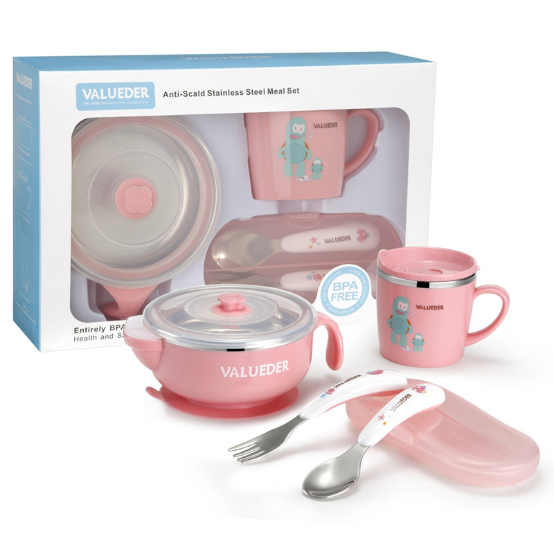 Stainless Feeding Set