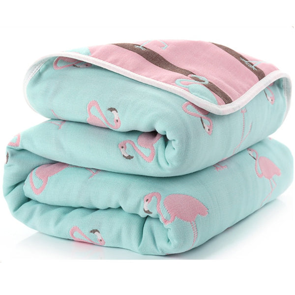 Baby Blankets Newborn Cotton 6 Layers